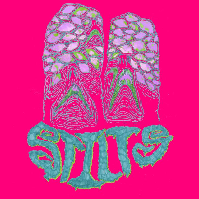 Stilts Rat Eyes art pink